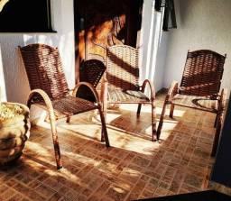 Cadeiras de Fibra