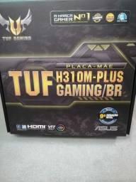 Placa mãe Asus tuf H310M-plus Gaming/BR.   (Leia a descrição)