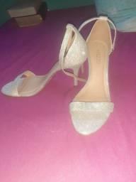 Sapato arezzo nmr36 pequeno