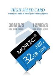 Cartão De Memória Sd 32gb Original Com Adaptador, MicroSDHC