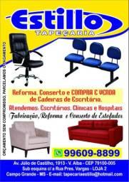 Conserto e reforma de cadeira de escritório.