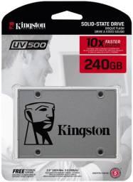 Hd SSD 240GB Kingston Novo Pronta Entrega A400 10x mais velocidade