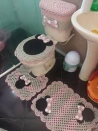 Jogos banheiro croche Minnie 70,00