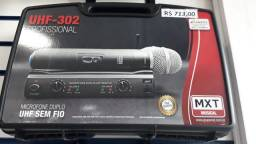 Microfone sem fio profissional mxt