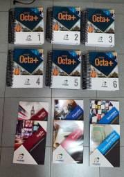 Livro octa + material vestibular