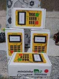 Minizinha chip2 máquina de cartão pagbank