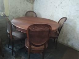 Mesa de jantar Jacaranda Antiga
