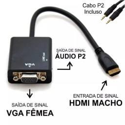 Adaptador Hdmi / Vga - Hd Conversion Cable
