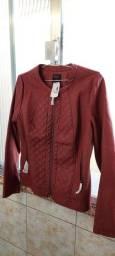 Jaqueta nova, com etiqueta da loja