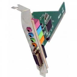 Placa de Som - 4 Canais / PCI / SK-CR4280 / PC0002 - Novo