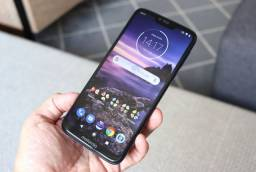 Título do anúncio:  Motorola g7 Power 64gb + 32 gb cartão de memoria  (perfeito estado)