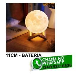 Luminária Lua Led 11cm Amarela * Fazemos Entregas