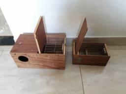 2 caixas de ninho por R$ 65,00