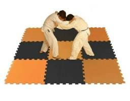 Tatame 50x50x2cm 04 peças preto
