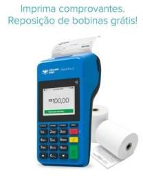 Maquininha De Cartão point pro 2 imprimé comprovante Nova
