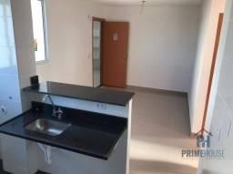 Apartamento com 2 dormitórios c/porcelanato para alugar, 40 m² por R$ 1.300/mês - Aluguel