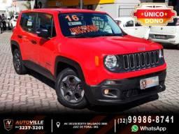 Título do anúncio: Única Dona*Jeep Renegade Sport 1.8 Automático*51Mil Km Rodados* - 2016
