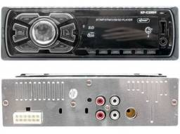 Auto Radio Automotivo Bluetooth<br>Mp3 Player Usb Sd Som Carro