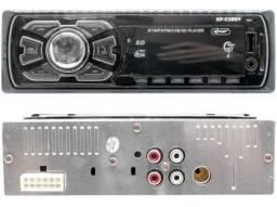 Auto Radio Automotivo Bluetooth<br>Mp3 Player Usb Sd Som Carro