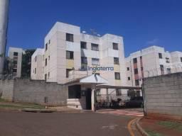 Apartamento com 2 dormitórios para alugar, 48 m² por R$ 750,00/mês - Lindóia - Londrina/PR