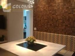 Apartamento à venda com 3 dormitórios em Vila metalúrgica, Santo andré cod:41920