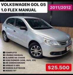 GOL 2011/2012 1.0 MI 8V FLEX 4P MANUAL G.V