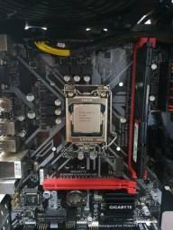 Computador PC top Completo + Monitor Game Olhem o preço de cada peça.