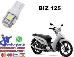 """""""Lâmpada LED T10 Pingo 12V Luz Branca Aplicação Placa Biz 125"""