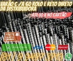 Varão C A 60 Rolo e Retoferro , ferro , estrutura ferro , estrutura ferro ,