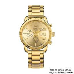 Relógio masculino luxuoso original Binger alta qualidade