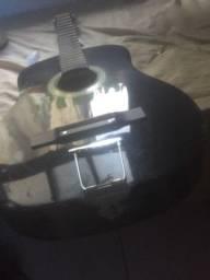 Título do anúncio: Violão da marca vogga/ sem cordas /com adaptador para aço.