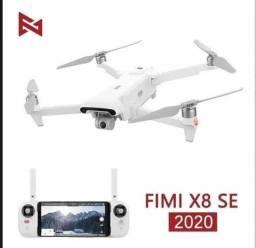 Drone fimi x8 se 2020 guinbal 3 eixo 4k 8km