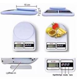 Título do anúncio: Balança Cozinha Digital 10kg Alta Precisão Dieta E Nutrição