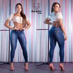 Título do anúncio: Vendo calça jeans nova Pitty bull