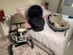 Conjunto Carrinho de Bebê Quinny + Bebê Conforto + Moisés