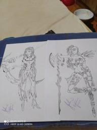 Desenhos sob encomenda