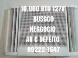 Título do anúncio: Ar Condicionado 10.000 Btu 110V Economico Entrego Ac Cartão 5x Pix Testo
