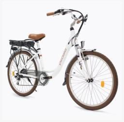 "BAIXOU! Bicicleta Elétrica Gioia Unissex Branca, Aro 26"""