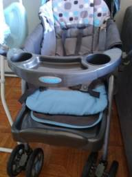 Carrinho de Bebê Travel System Reverse Azul - Cosco