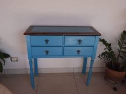 Balcão estilo country - azul