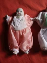 Bonecas bebês de porcelana