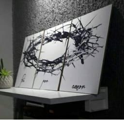Kit quadros decorativos imperdivel 6 por 50,00