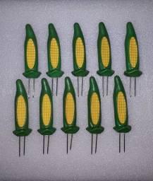 Kit Petiscador 10 peças modelo Milho Verde