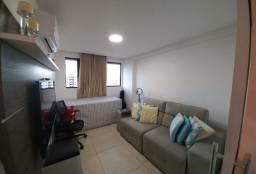 apartamento com 2 quartos no bessa (com mobilia )