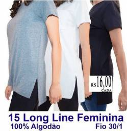 15 Camisetas femininas