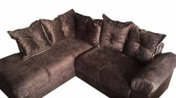 Título do anúncio: sofá de canto com entrega gratis
