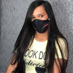 Máscaras e camisas personalizadas