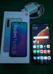 Redmi Note 8 Space Black 64GB 4G RAM