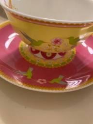 Conjunto de porcelana cashmere Enchanté