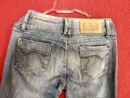 Calça jeans feminina Maria Valentina